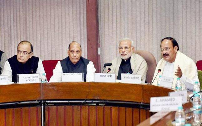 Ahead of big GST debate in Parliament, PM Modi meets his