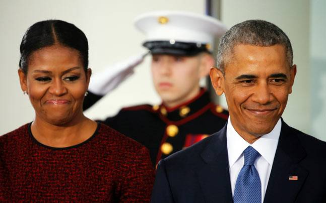 Barack Obama has been picked for the Kennedy Library's Profiles of Courage award. Photo: Reuters