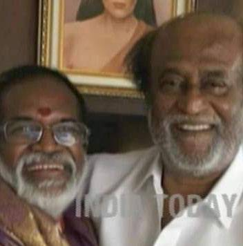 Rajinikanth meets BJP candidate for Jaya's Assembly seat, wishes him luck