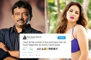 RGV apologises for Women's Day tweet on Sunny Leone, says he didn't mean to be insensitive