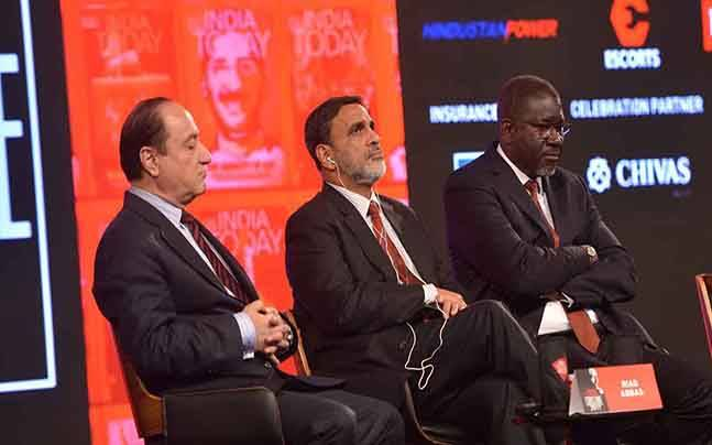 Riad Abbas at the India Today Conclave 2017