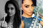 Jennifer Winget to Anita Hassanandani: Know why these TV actresses are seen with a razor in hand
