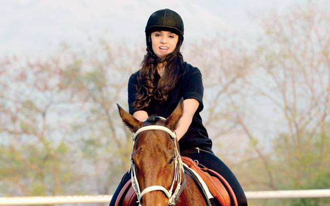 Horse riding at the 1873 Equestrian Lifestyle Resort in Karjat. Photo: Mandar Deodhar