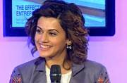 I fight like a woman, I am no less empowered in strength: Tapsee Pannu