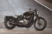 All new Triumph Bonneville Bobber