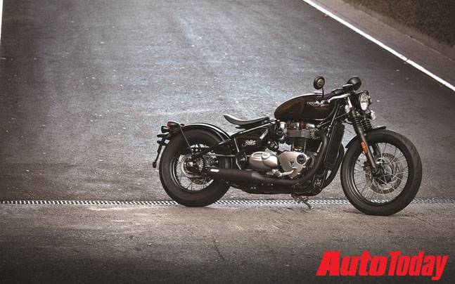 New Triumph Bonneville Bobber Launched In India At Rs 909 Lakh