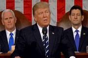 President Donald Trump addresses US Congress, talks tough on immigration, terror