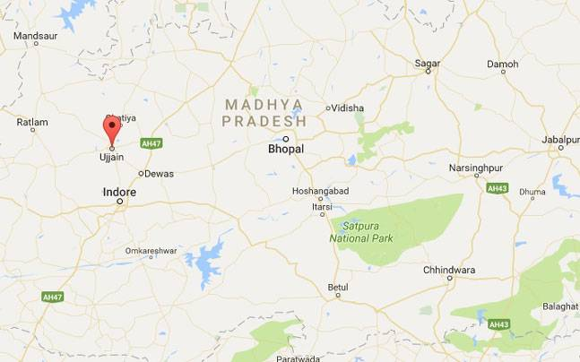 Ujjain India Map.Fire Breaks Out In Ujjain Madhya Pradesh Over 20 Shops Gutted