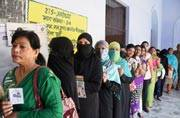 UP election LIVE: 57.03 per cent turnout till 5 pm, says Election Commission