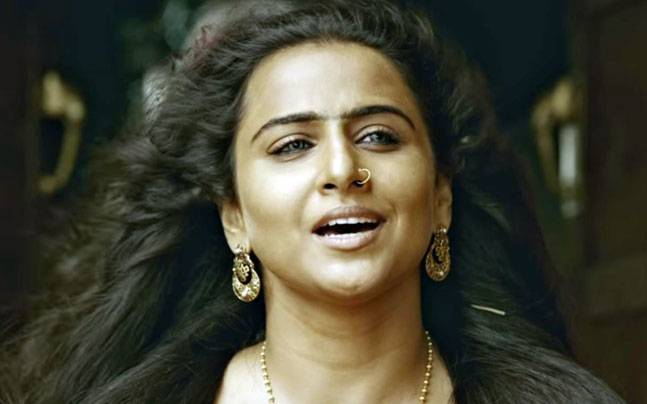 Vidya Balan in a still from Begum Jaan