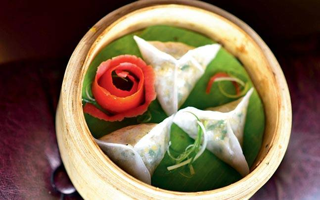 The mushroom and cheese dim sums will win your heart and palate over. Picture courtesy: Mail Today