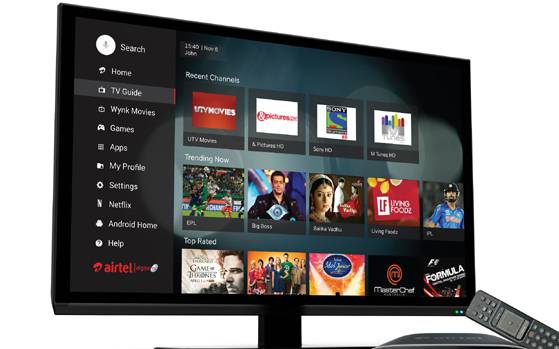 Satellite Tv And Internet >> Airtel S New Internet Tv Set Top Box Comes With Netflix And Youtube