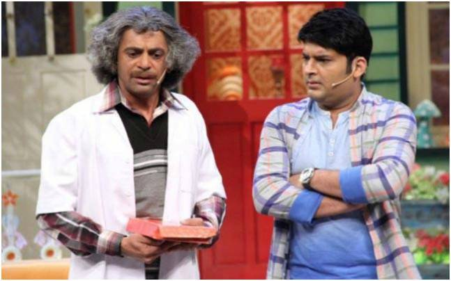 Rishi Kapoor wants Sunil and Kapil to patch up. Picture courtesy: Twitter/altaafshaikh