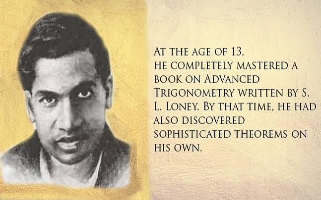 Remembering Srinivasa Ramanujan: Facts about the