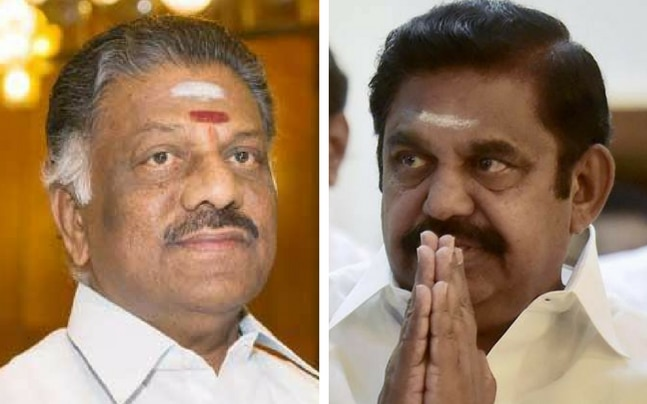 O Panneerselvam and E Palanisami