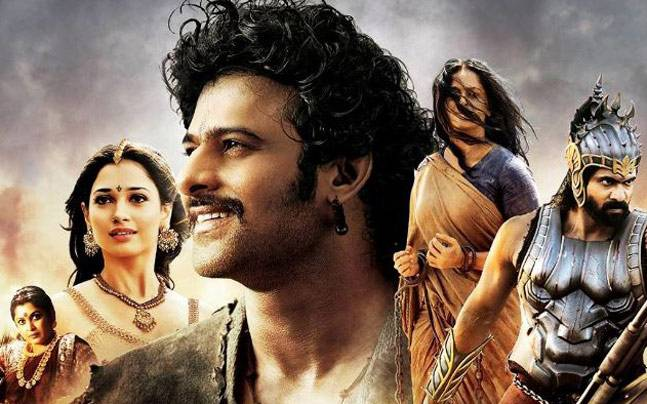 A poster of Baahubali: The Beginning