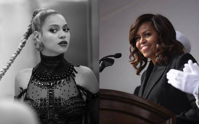 Pictures courtesy: Instagram / Beyonce| Michelle Obama