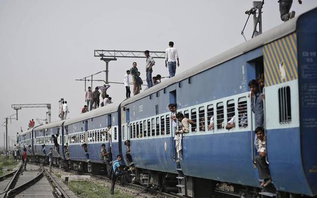 Beating the heat: Driver in Bihar stops train midway, goes
