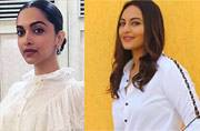 Deepika, Sonakshi ditch colours; go for black-and-white dressing