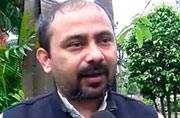 AAP leader Dilip Pandey. ANI Photo.