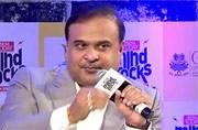Himanta Biswa Sarma at India Today Mind Rocks in Guwahati
