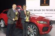 Jaguar F-PACE takes World Car of the Year crown for 2017