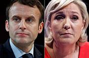 French presidential election: Centrist Macron appears set for presidency in runoff with far-right leader Le Pen