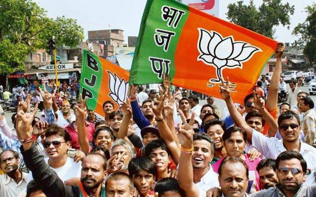 MCD election results 2017  BJP leading in all three civic bodies ... 9ecdf89582b