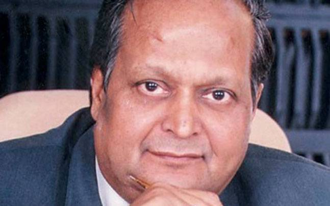 Chairman of the Dainik Bhaskar Group Ramesh Chandra Agrawal