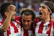 Antoine Griezmann leaves it late to dent Real Madrid's title tilt