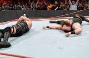 WWE: Ring collapses in Brawn Stawman and Big Show fight on RAW