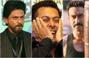 It's Shah Rukh Khan vs Ajay Devgn once again. But this time for Salman Khan