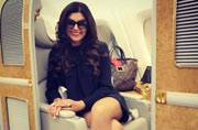 Sushmita Sen is telling us why education is important, and she has a valid point
