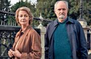 Charlotte Rampling and Jim Broadbent in The Sense of an Ending