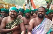 Tamil Nadu farmers are protesting at Jantar Mantar in New Delhi