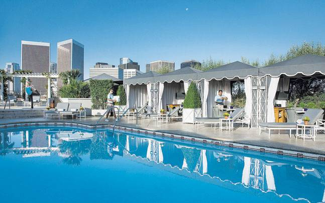 Five-star hotel The Peninsula in Beverly Hills. Photo: Mail Today