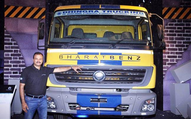 Norms Used Trucks >> Bharat Benz Launches Heavy Duty Truck Range With Bs Iv