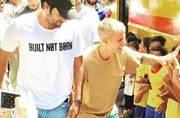 Justin Bieber's concert was unimpressive; his meeting with slum kids wasn't
