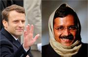 5 similarities between Emmanuel Macron and Arvind Kejriwal. Will the French President-elect go the Delhi CM's way?