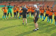 Expect players to work hard in preparatory Camp, says Stephen Constantine