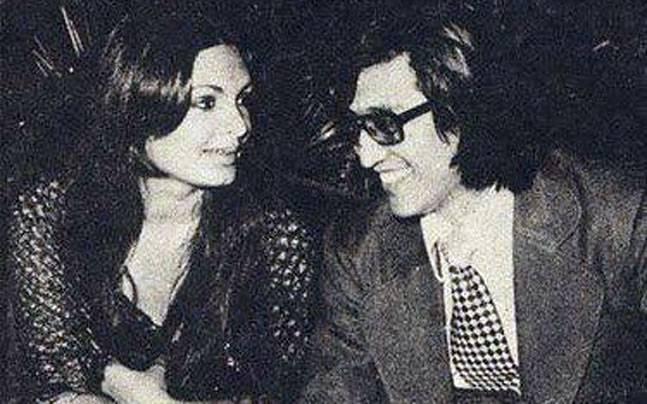 Parveen Babi and Danny Denzongpa