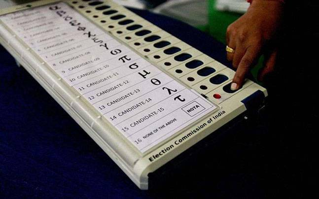 Election Commisison batting for use of EVM in polls: Picture for representation