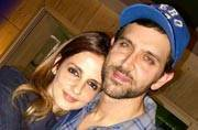 SEE PICS: Hrithik Roshan, Sussanne Khan, kids Hrehaan and Hridhaan catch a movie this weekend