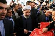 Iran state TV declares Hassan Rouhani as the winner in country's presidential polls