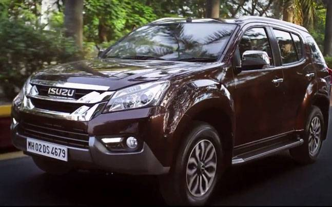 Isuzu MU-X launched in India at Rs 23.99 lakh - Auto News