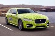 Andy Murray will unveil new Jaguar XF Sportbrake on June 14