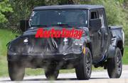 2019 Jeep Wrangler Pickup is for real, caught testing in Michigan