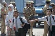 Kashmir: Schoolchildren in Valley want peace and studies to return