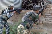 Encounter on between militants and security forces in Kashmir