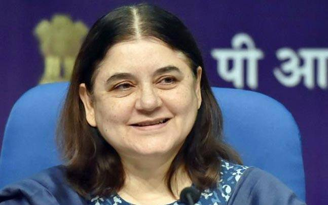 BSF exam topper wrote to Union minister Maneka Gandhi.
